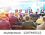 modern business conference at...   Shutterstock . vector #1247445112
