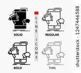 bullhorn  marketing  mobile ... | Shutterstock .eps vector #1247446588