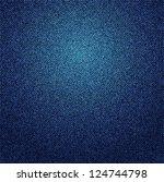a blue denim background texture.... | Shutterstock . vector #124744798