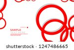 simple circles background  ...   Shutterstock .eps vector #1247486665