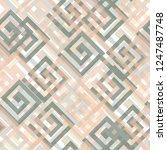 seamless pattern patchwork... | Shutterstock . vector #1247487748