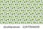 kiwi background. seamless... | Shutterstock .eps vector #1247504635