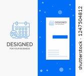 business logo for schedule ... | Shutterstock .eps vector #1247504812