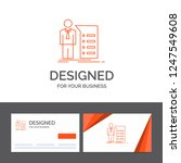 business logo template for... | Shutterstock .eps vector #1247549608