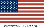 national flag correctly... | Shutterstock .eps vector #1247557078