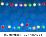 vector illustration of a chain... | Shutterstock .eps vector #1247564395