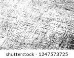 black and white distressed... | Shutterstock .eps vector #1247573725