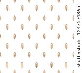 ear seamless pattern with wheat ... | Shutterstock . vector #1247574865