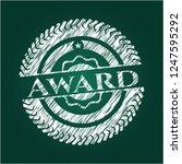 award chalkboard emblem | Shutterstock .eps vector #1247595292