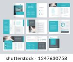 template layout design with... | Shutterstock .eps vector #1247630758