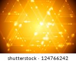 Abstract Shiny Tech Background...