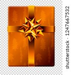 vector new year and christmas... | Shutterstock .eps vector #1247667532