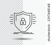 defence  firewall  protection ... | Shutterstock .eps vector #1247668168