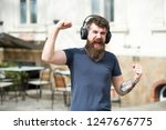 get music subscription. enjoy... | Shutterstock . vector #1247676775