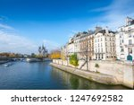 cathedral of notre dame de... | Shutterstock . vector #1247692582