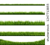 grass border big collection ... | Shutterstock .eps vector #1247713855