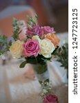 wedding interior inspiration...   Shutterstock . vector #1247723125