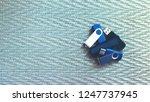 many usb flashes on metallic... | Shutterstock . vector #1247737945