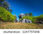 landscape nature view unseen in ... | Shutterstock . vector #1247757658