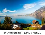 autumn in vitznau | Shutterstock . vector #1247770522
