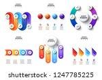 vector gradients infographic...   Shutterstock .eps vector #1247785225