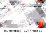 seamless urban geometric grunge ... | Shutterstock .eps vector #1247788582