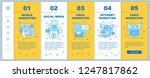 internet marketing onboarding... | Shutterstock .eps vector #1247817862