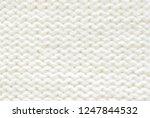 ivory knit pattern as...   Shutterstock . vector #1247844532