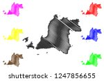 banten  subdivisions of... | Shutterstock .eps vector #1247856655
