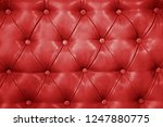 texture of genuine red leather... | Shutterstock . vector #1247880775