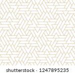 pattern with thin straight...   Shutterstock .eps vector #1247895235