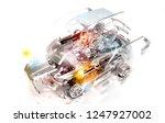 mechanical parts that make up... | Shutterstock . vector #1247927002