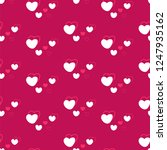 hearts  seamless background ...   Shutterstock .eps vector #1247935162