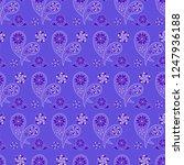 paisley seamless pattern....   Shutterstock .eps vector #1247936188