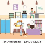 pet and veterinary | Shutterstock .eps vector #1247943235