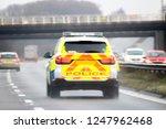 British Police Vehicle Speeding ...