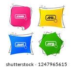 top level internet domain icons.... | Shutterstock .eps vector #1247965615