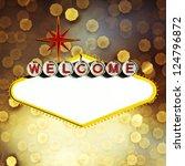 empty las vegas sign | Shutterstock . vector #124796872