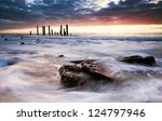 Coastal Colour - stock photo