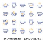 coffee types and tea icons. set ... | Shutterstock .eps vector #1247998768