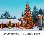rovaniemi  finland   march 6 ... | Shutterstock . vector #1248001495