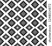 tribal seamless pattern. aztec... | Shutterstock .eps vector #1248014872