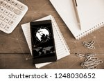 social network and internet... | Shutterstock . vector #1248030652