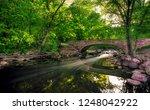 bridge crossing minnehaha creek | Shutterstock . vector #1248042922