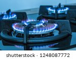 close up kitchen stove cook... | Shutterstock . vector #1248087772