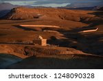 deserted landscape with the a... | Shutterstock . vector #1248090328