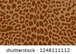 leopard seamless texture...   Shutterstock .eps vector #1248111112