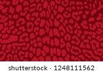 leopard texture seamless design ...   Shutterstock .eps vector #1248111562