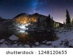 starry winter night in...   Shutterstock . vector #1248120655