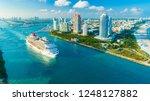 usa. florida. miami beach.... | Shutterstock . vector #1248127882
